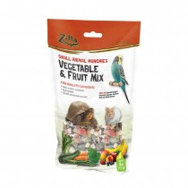 """Zilla Reptile Munchies Vegetable and Fruit 4 ounces 5.875"""" x 2.75"""" x 9.5"""""""