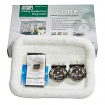 """Midwest iCrate Dog Crate Kit Small 24"""" x 18"""" x 19"""""""
