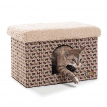 K&H Pet Products Kitty Bunkhouse Tan 12'' x 18'' x 12''