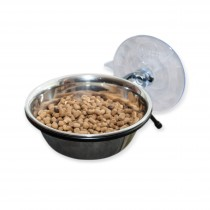 """K&H Pet Products EZ Mount Up and Away Kitty Diner 12 ounces Black 6"""" x 5"""" x 4"""" KH9521"""